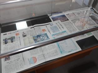 「西日本豪雨と防災」展を開催しています